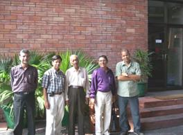 Yamuna Teammembers in India Habitat Centre