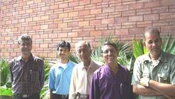 Yamuna Teammembers in India Habitat Centre 3